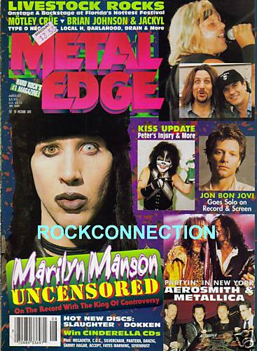 ФОТО WASP Metal Edge Magazine 1997 W.A.S.P.